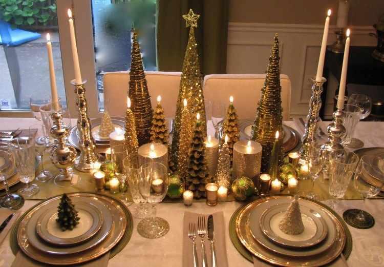 centros de mesa de navidad 2015