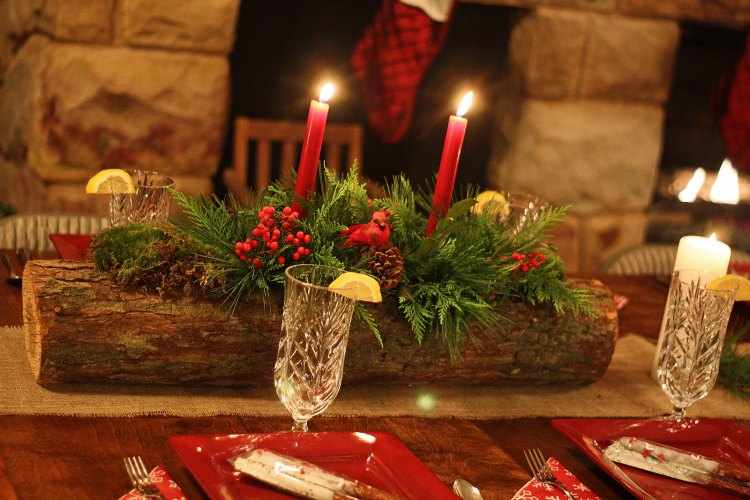 centros de mesa de navidad caseros