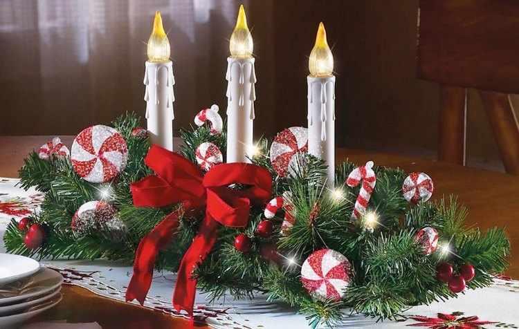 Centros de mesa para navidad - Centros navidenos caseros ...