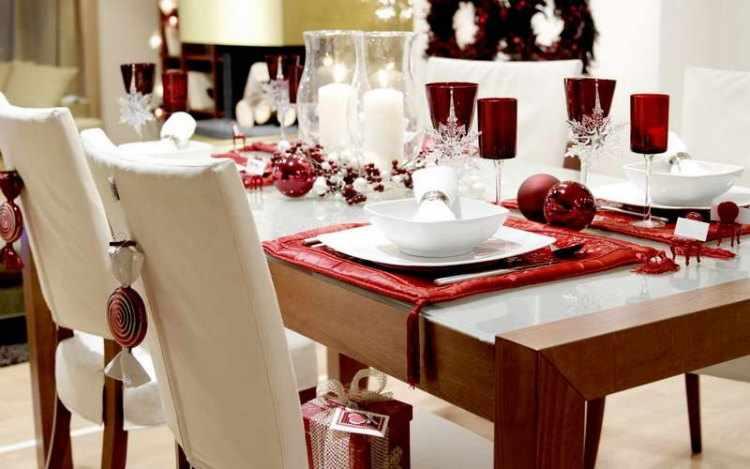 como decorar la mesa para navidad
