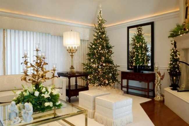 decoracion de casa navideña