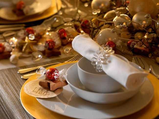 decoracion de centros de mesa para navidad