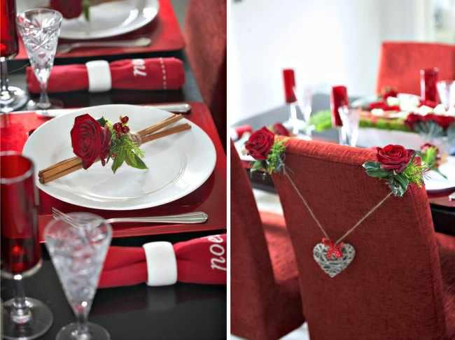 decoracion mesas navidad sencillas