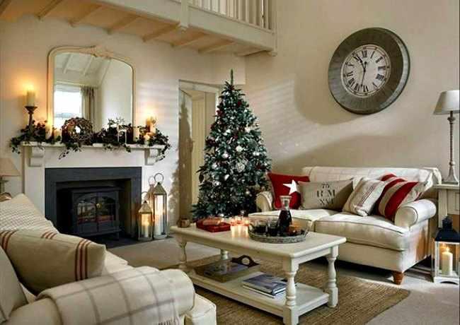 decoraciones de casas en navidad
