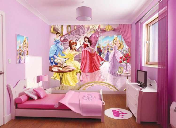decoracion de habitaciones infantiles de princesas