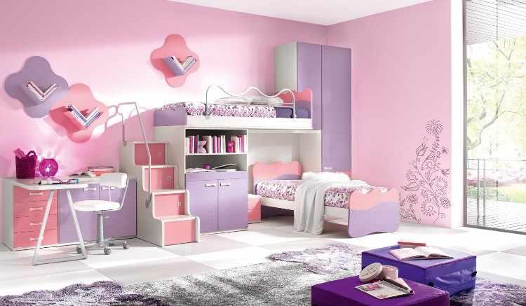 decoracion habitacion infantil de nia