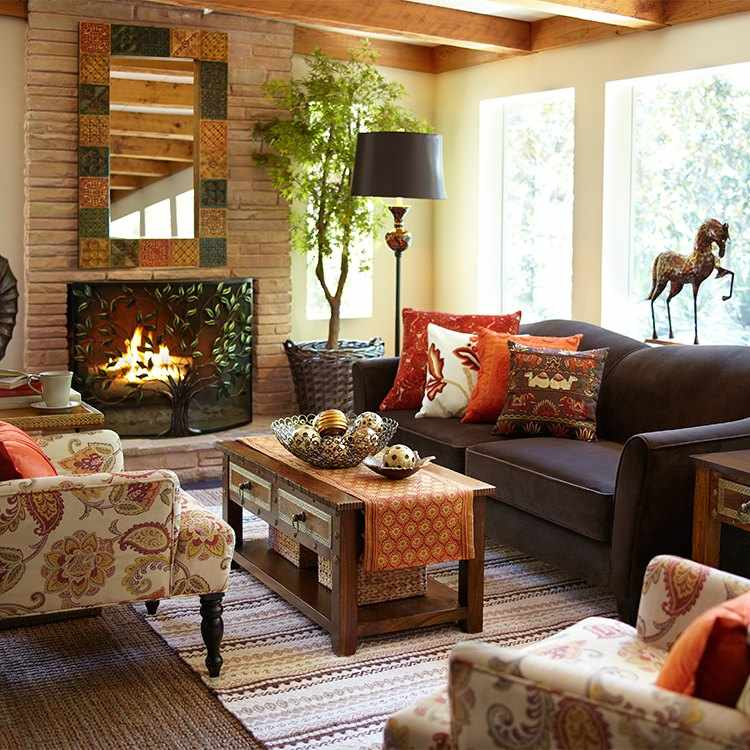 Decoracion invierno dando calor a nuestro hogar for Decoracion invierno