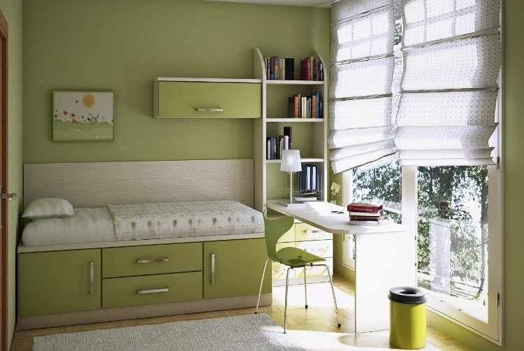 ideas decoracion habitacion infantil pequeña