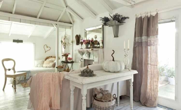 decoracion romantica salon