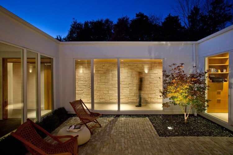 decoracion de patios peque os. Black Bedroom Furniture Sets. Home Design Ideas