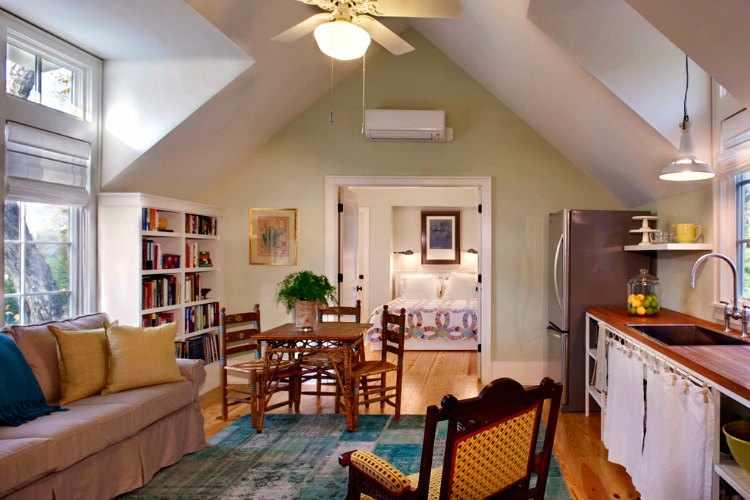 Dise os de casas peque as for Small garage apartment ideas
