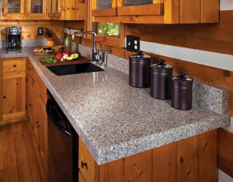 Tipos de encimeras para cocina for Encimeras granito leroy merlin