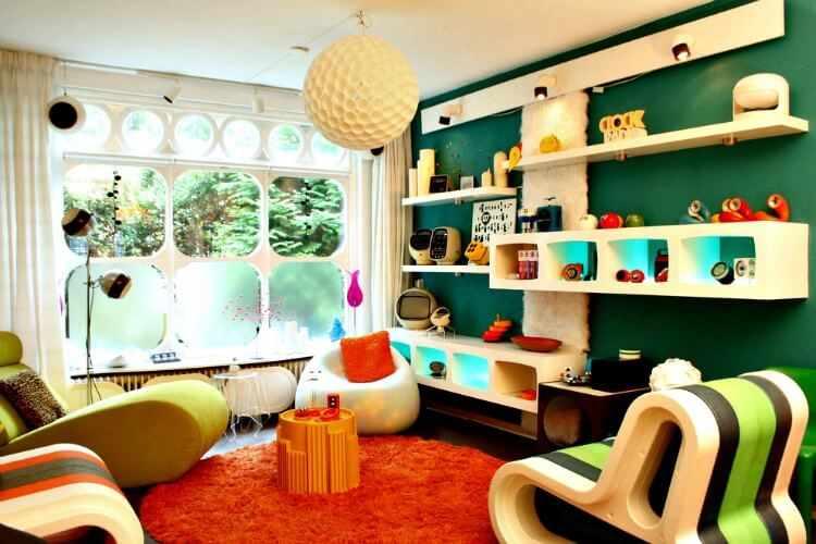 muebles estilo retro vintage