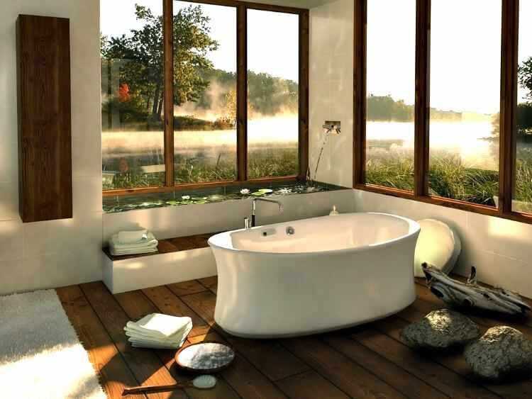 baño estilo japones decoracion