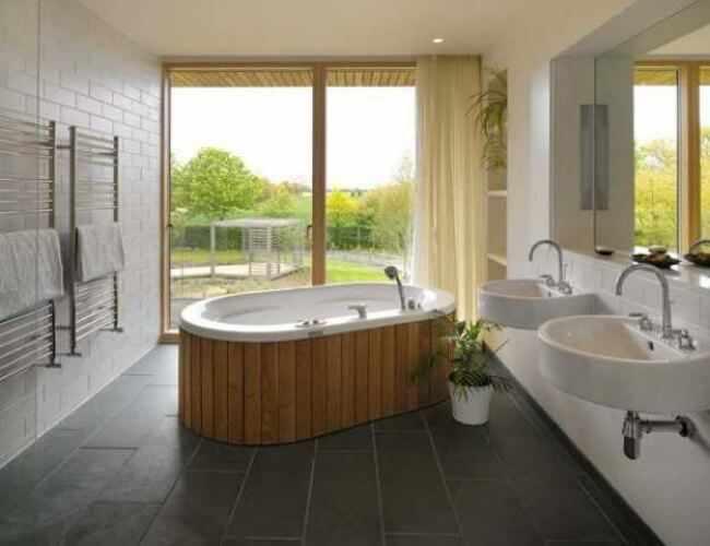 baños de estilo japonés