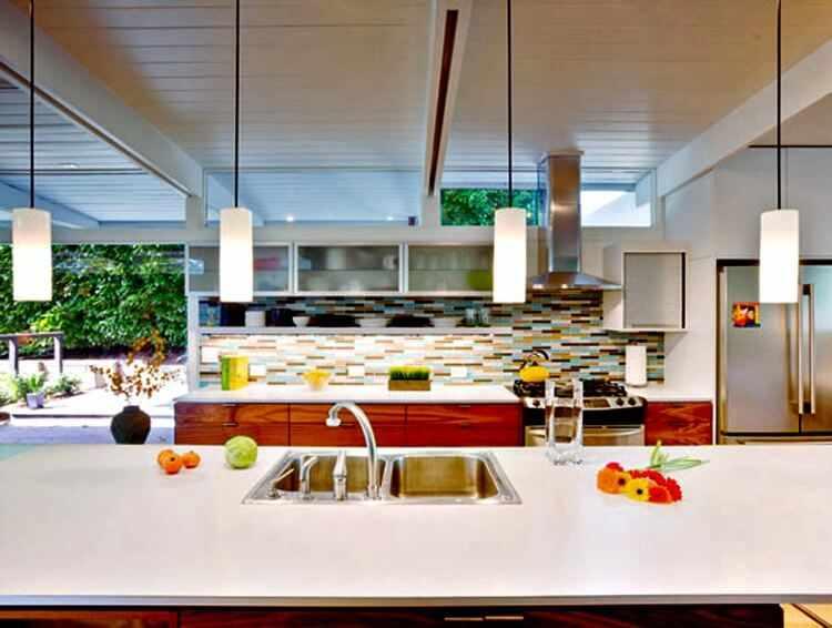 cocinas con barra americana