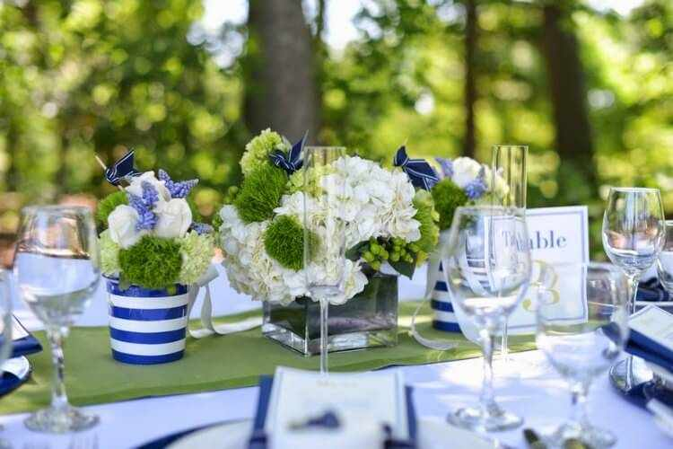 como decorar mesas de verano