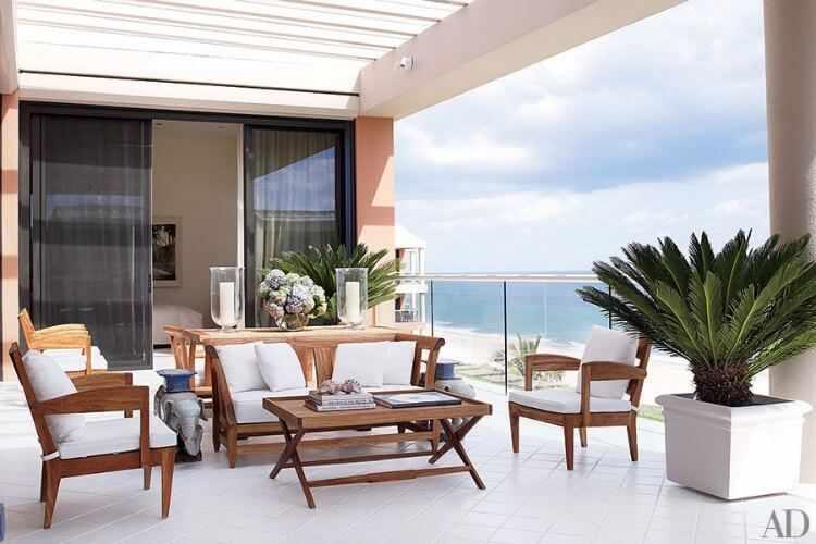 como decorar una terraza grande