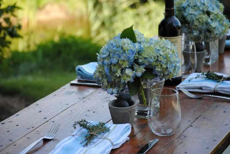 decoracion de mesas para fiestas de verano