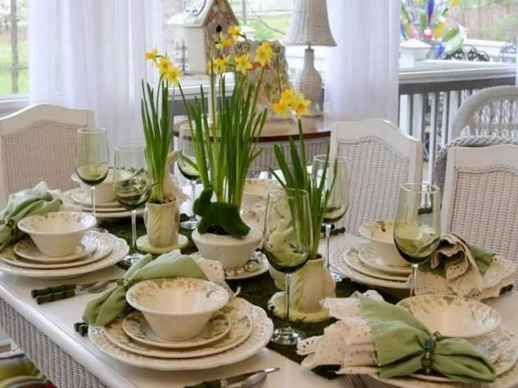 decoraciones de mesas para verano