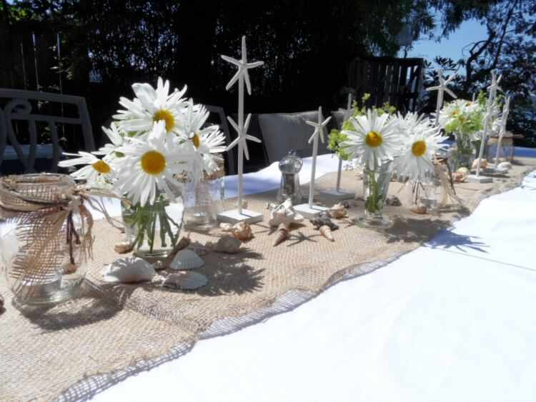 decorar mesas de verano