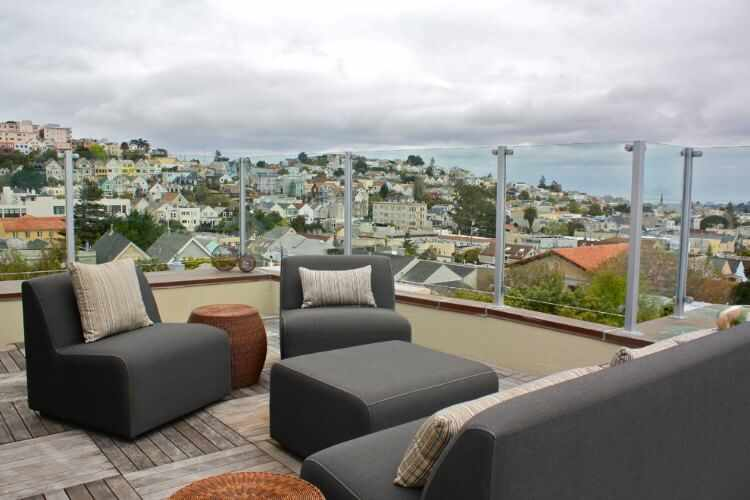 Decoracion de terrazas urbanas - Decorar terraza atico ...
