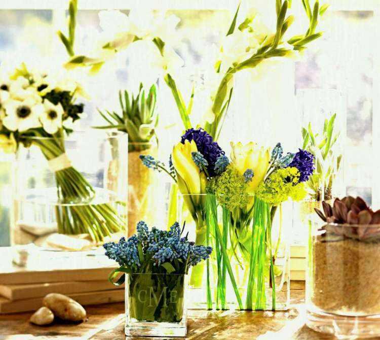 Decorar con flores - Como decorar con plantas ...