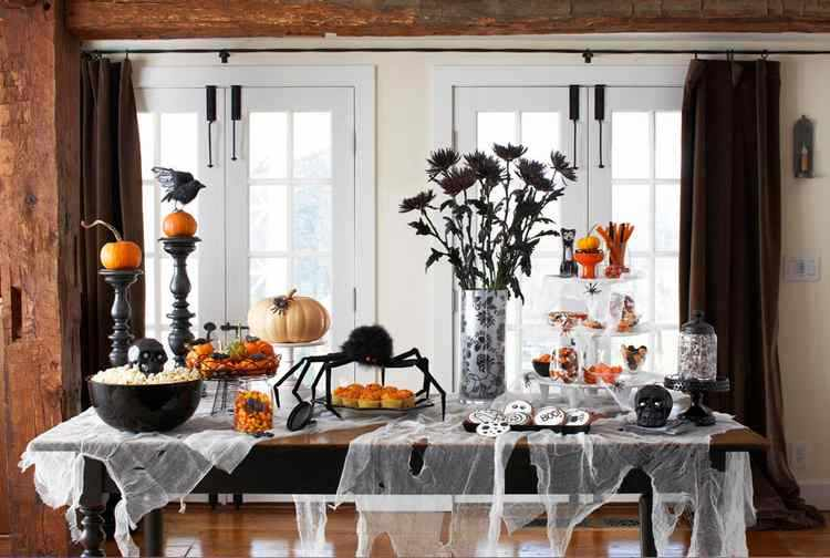 Como decorar el comedor en Halloween