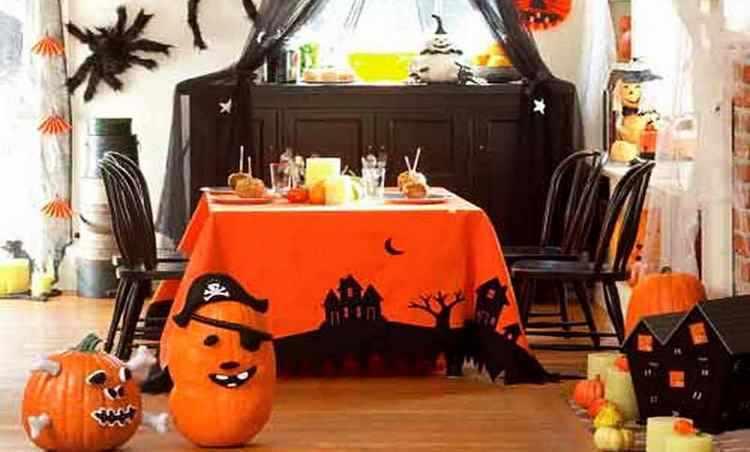 Como decorar la cocina en Halloween