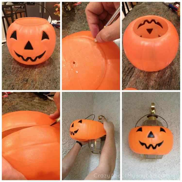 Manualidades de halloween con material reciclable for Como hacer decoraciones de halloween