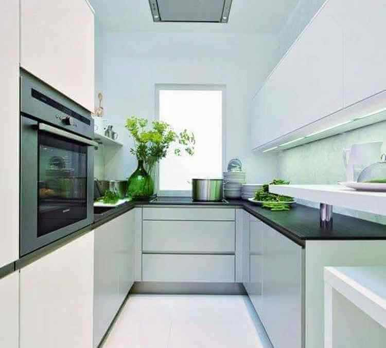 25 cocinas modernas peque as dise o y decoracion for Cocinas modernas pequenas para apartamentos