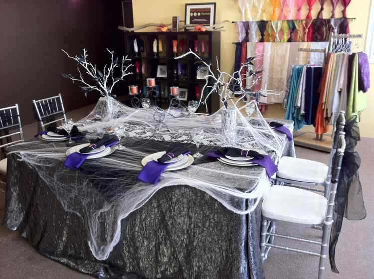 decoracion de mesas de halloween