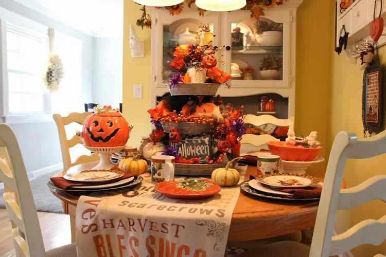 Decoracion De Baño Halloween:Como decorar la cocina en Halloween – Truco o Trato en Decoracion