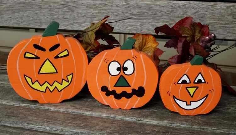 Manualidades de halloween con material reciclable - Decorar calabazas para halloween infantiles ...