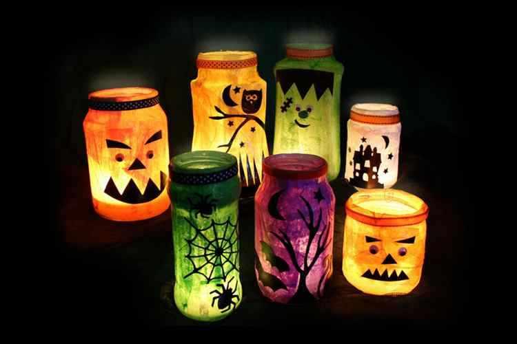 Manualidades de halloween con material reciclable - Childrens halloween decorations ...