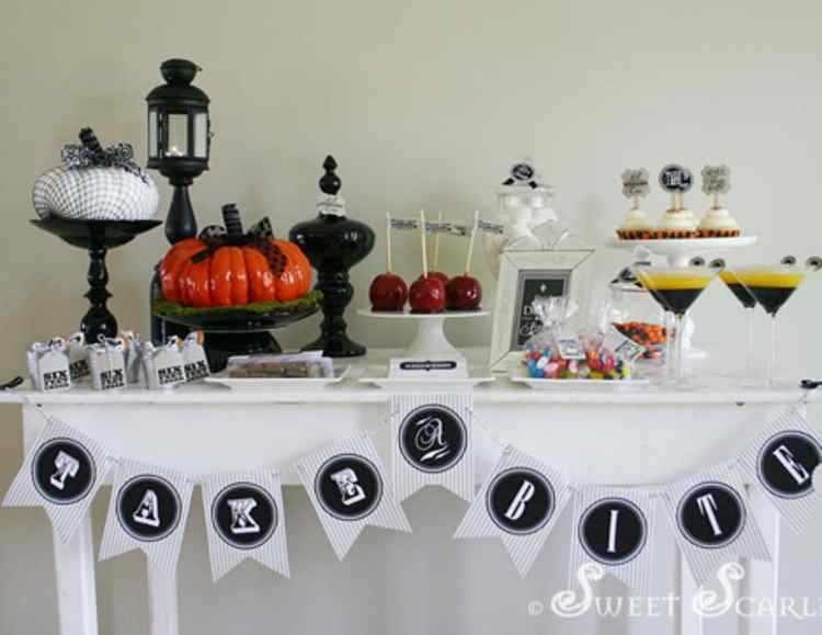 mesas para halloween