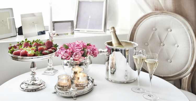 Decoracion de mesas para cenas romanticas en san valentin for Como hacer una cena