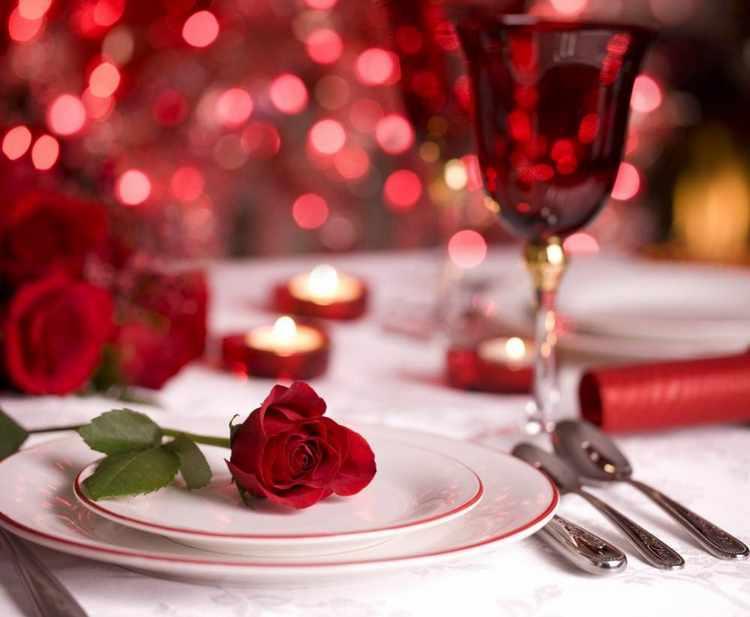 decoracion de cenas romanticas