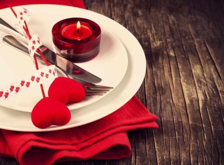 decoracion mesa san valentin