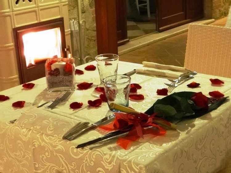 decoracion para cenas romanticas