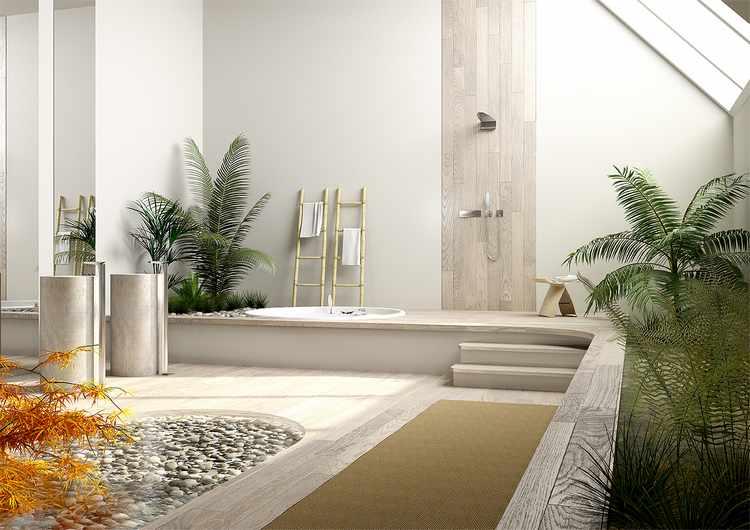 Feng Shui En El Baño Colores:Decoracion del baño segun Feng Shui