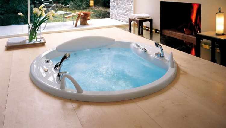 Baño Jacuzzi Medidas:Decoracion cuartos de baño con jacuzzi bañera hidromasaje