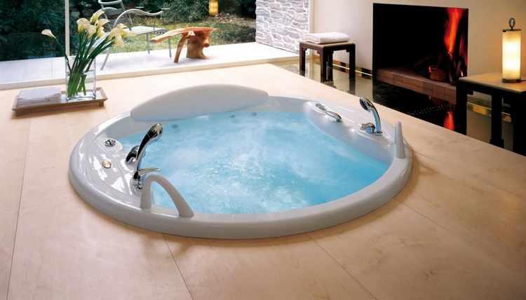 Ideas para decorar un baño con jacuzzi ~ dikidu.com