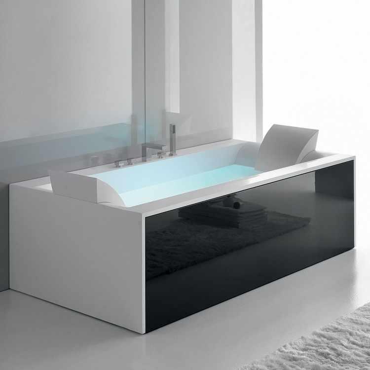 Decoracion cuartos de baño con jacuzzi bañera hidromasaje