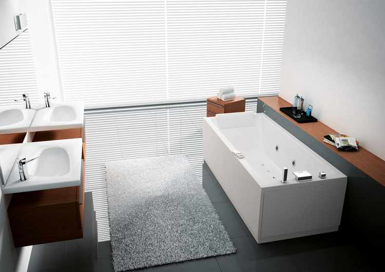 Decoracion De Baños Modernos Con Jacuzzi:Cuartos de baño con jacuzzi o bañera de hidromasaje