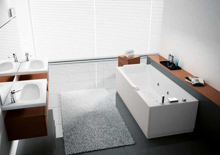 baños con jacuzzi modernos