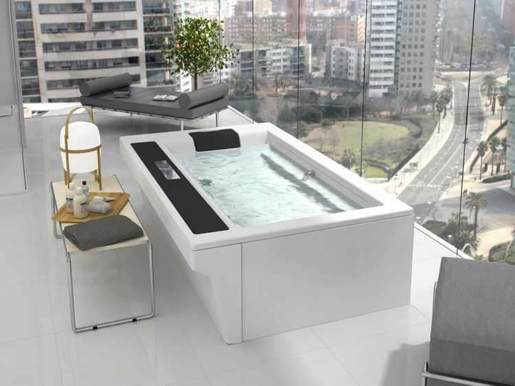 diseños de baños con jacuzzi