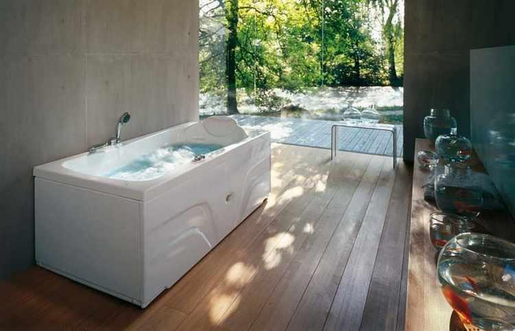 fotos de baños con jacuzzi