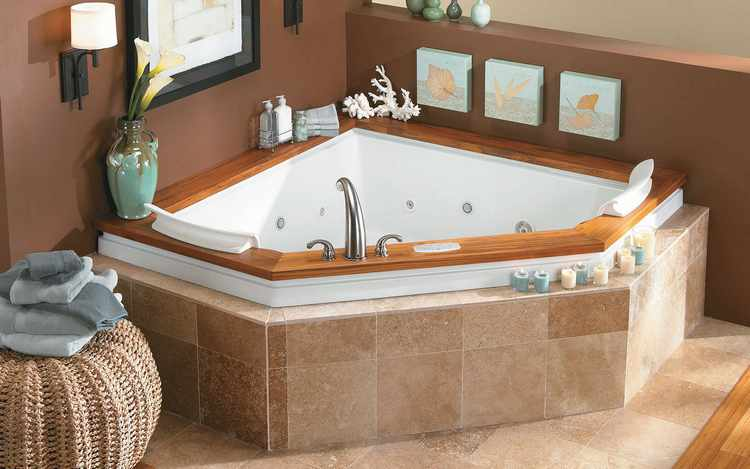 imagenes de baños con jacuzzi