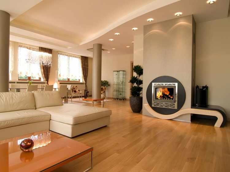 diseño de interiores muebles minimalistas